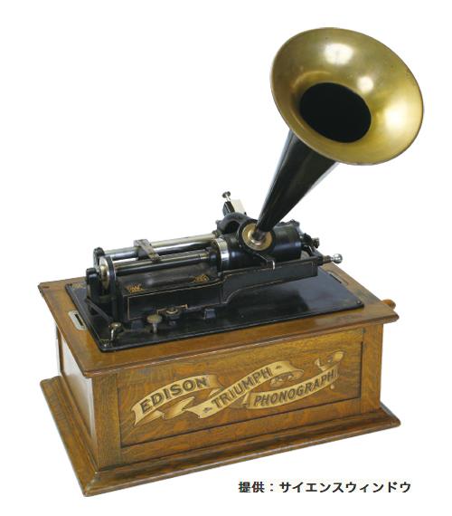 円筒型レコード
